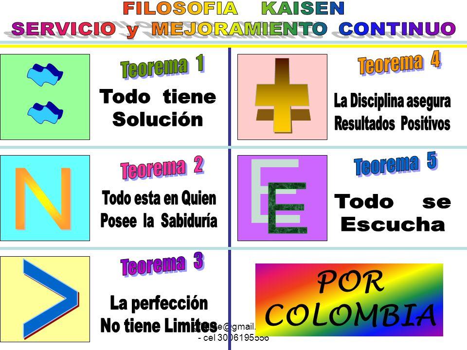 + : N E > POR COLOMBIA FILOSOFIA KAISEN