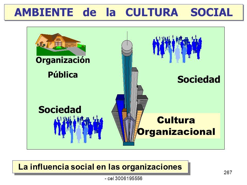 AMBIENTE de la CULTURA SOCIAL
