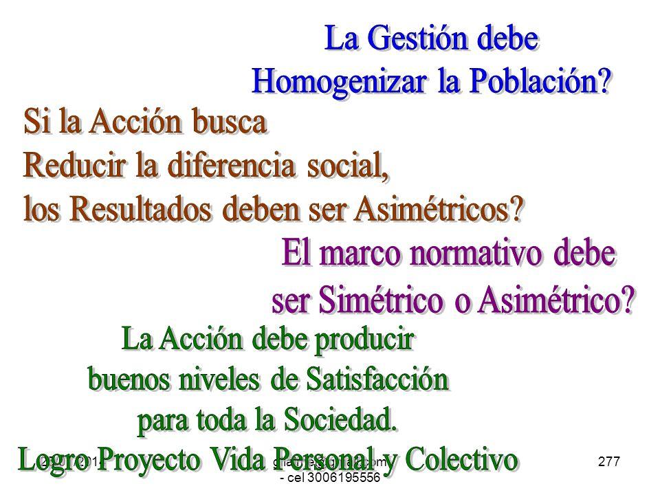 Homogenizar la Población