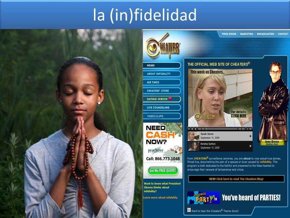 la (in)fidelidad