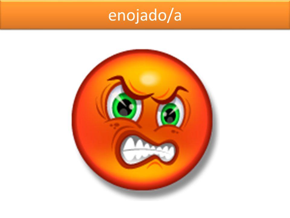 enojado/a