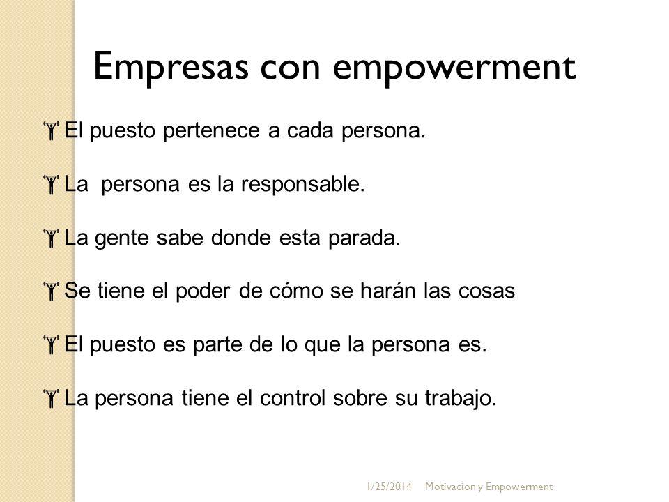 Empresas con empowerment