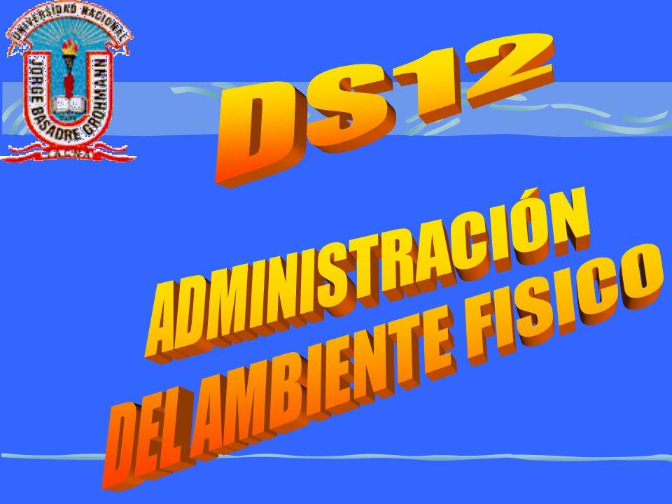 DS12 ADMINISTRACIÓN DEL AMBIENTE FISICO