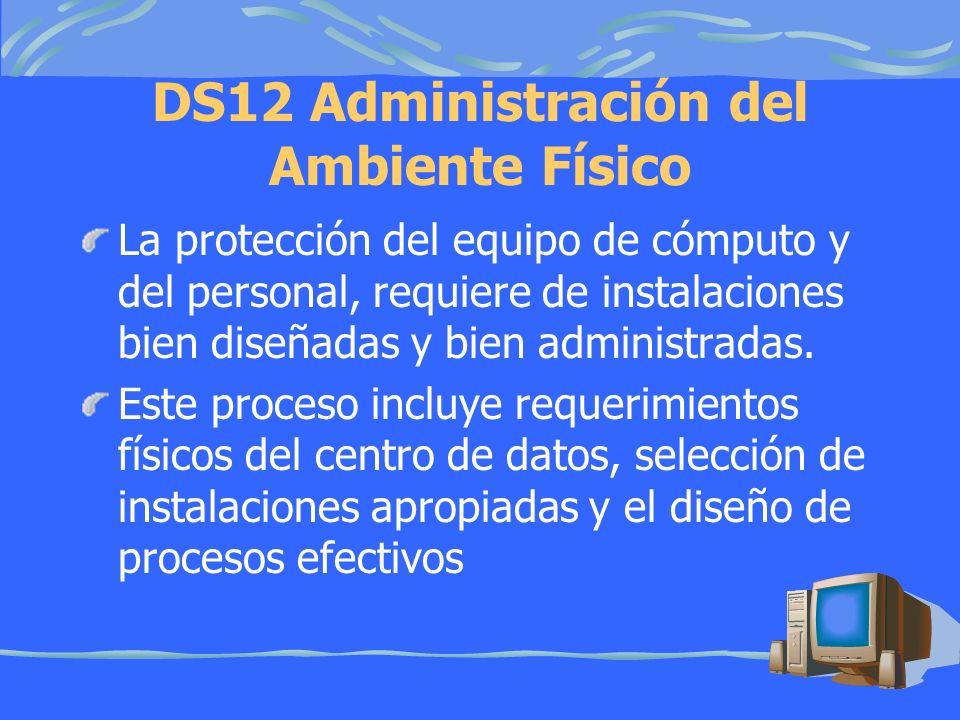 DS12 Administración del Ambiente Físico