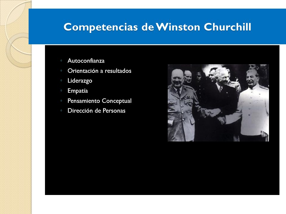 Competencias de Winston Churchill