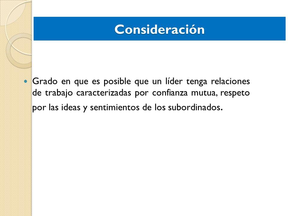 Consideración