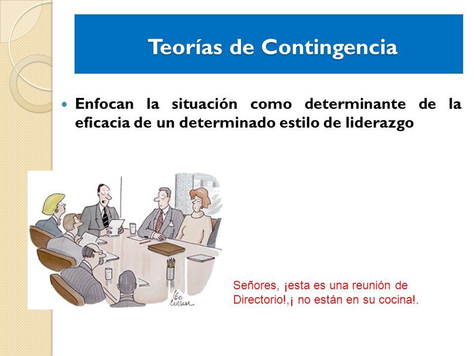 Teorías de Contingencia