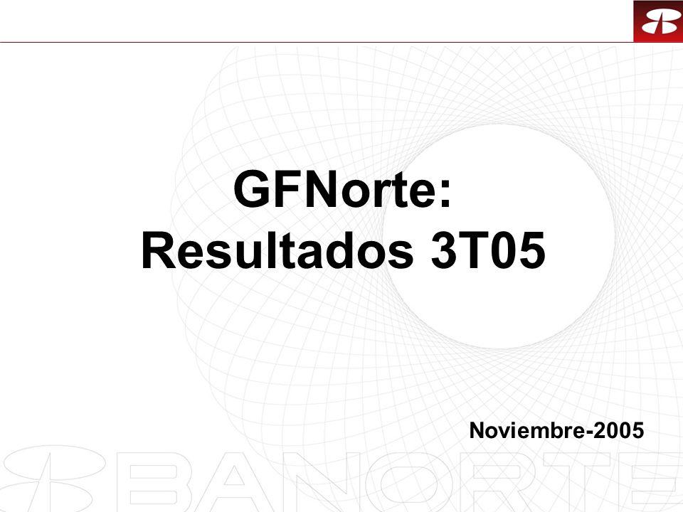 GFNorte: Resultados 3T05 Noviembre-2005