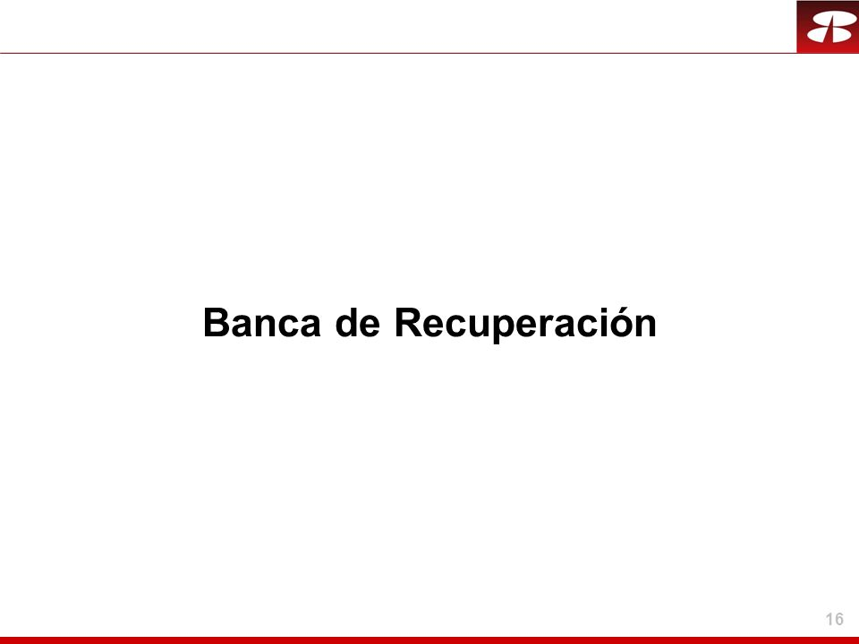 Banca de Recuperación