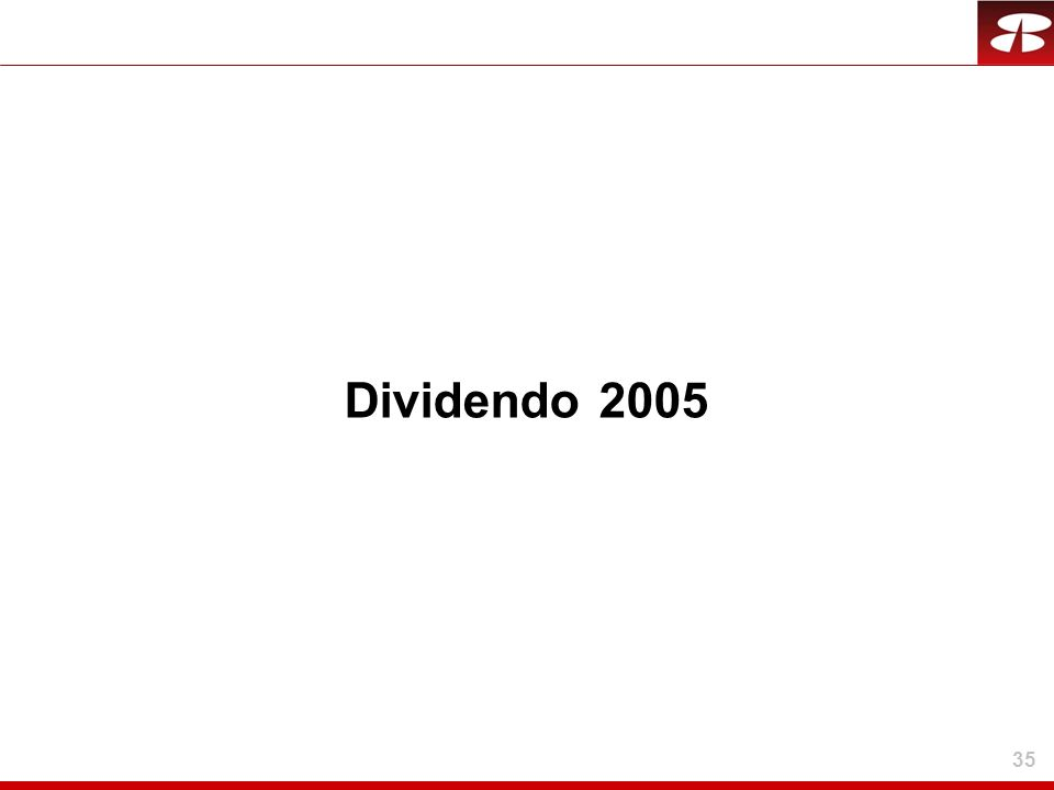 Dividendo 2005