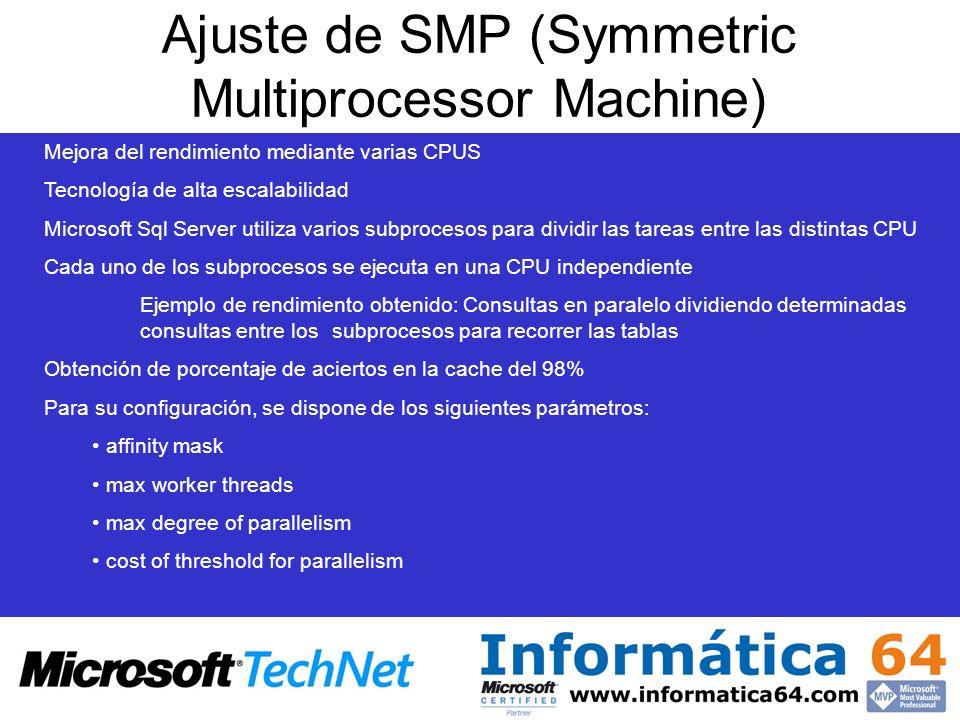 Ajuste de SMP (Symmetric Multiprocessor Machine)