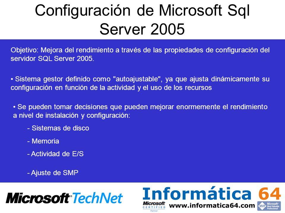 Configuración de Microsoft Sql Server 2005