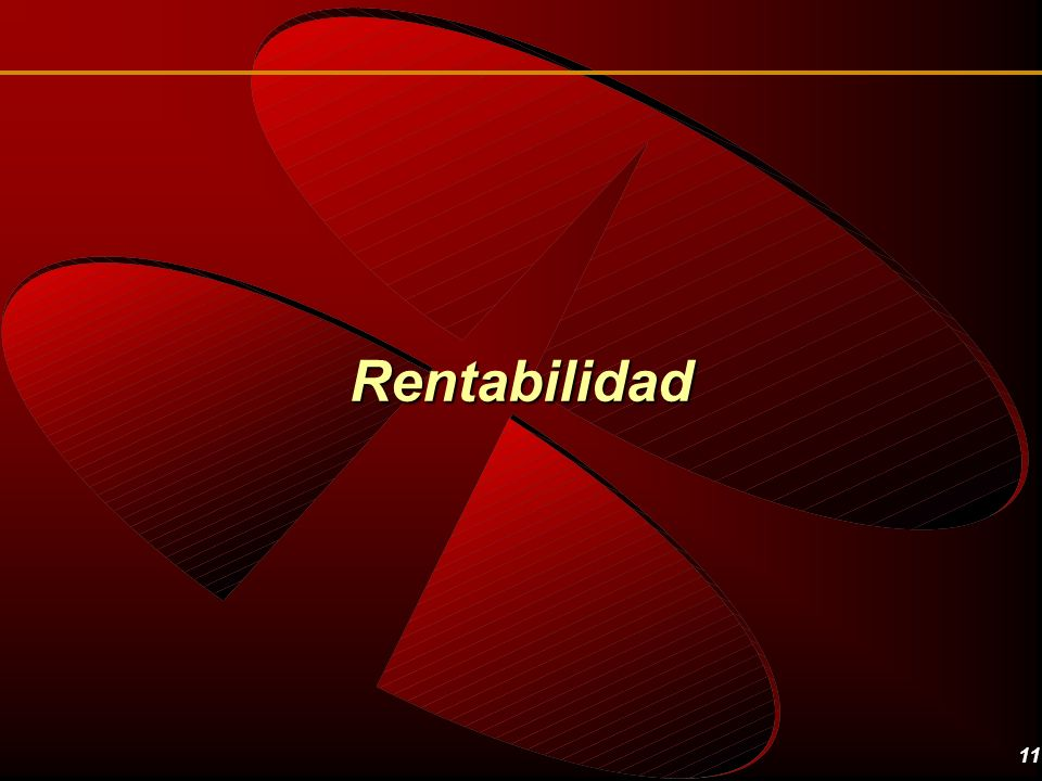 Rentabilidad Let's see some profitability numbers first.