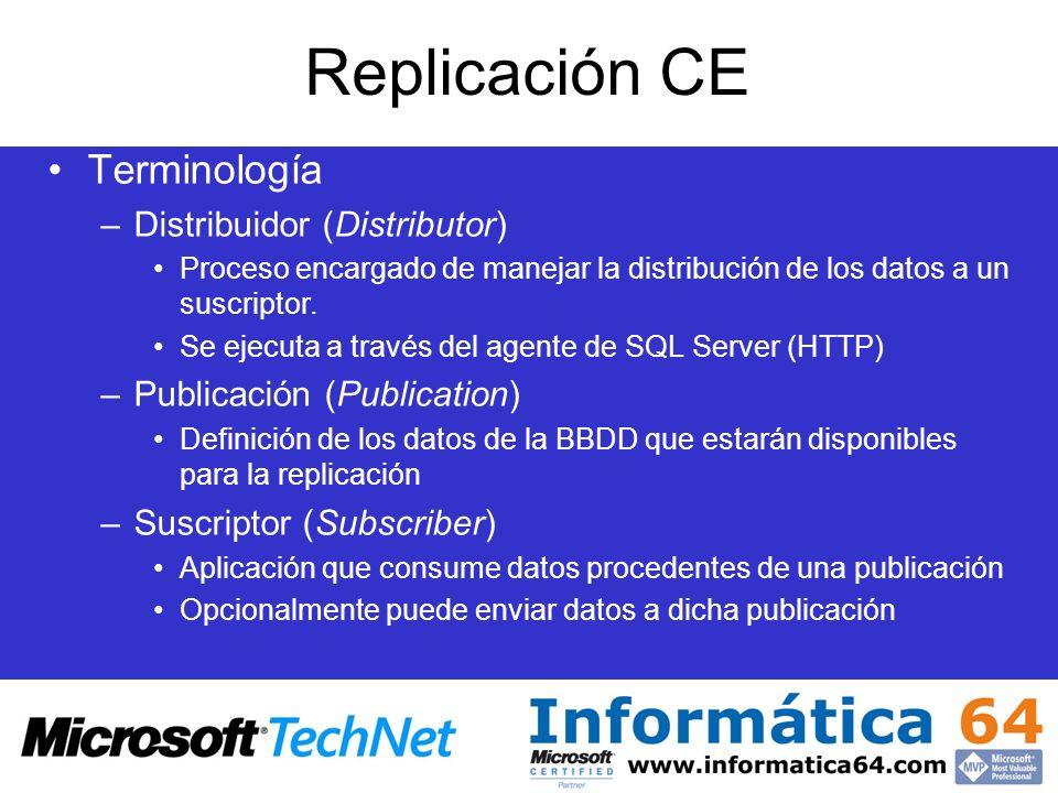 Replicación CE Terminología Distribuidor (Distributor)