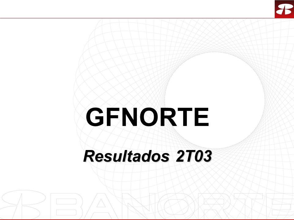 GFNORTE Resultados 2T03