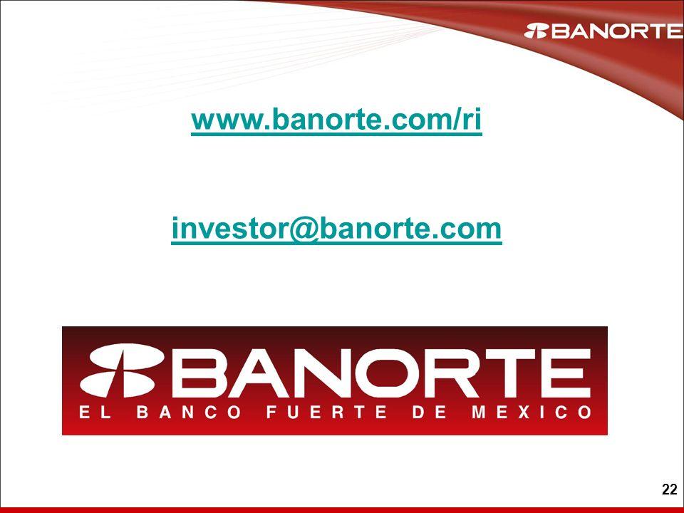 www.banorte.com/ri investor@banorte.com