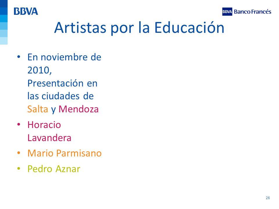 Artistas por la Educación