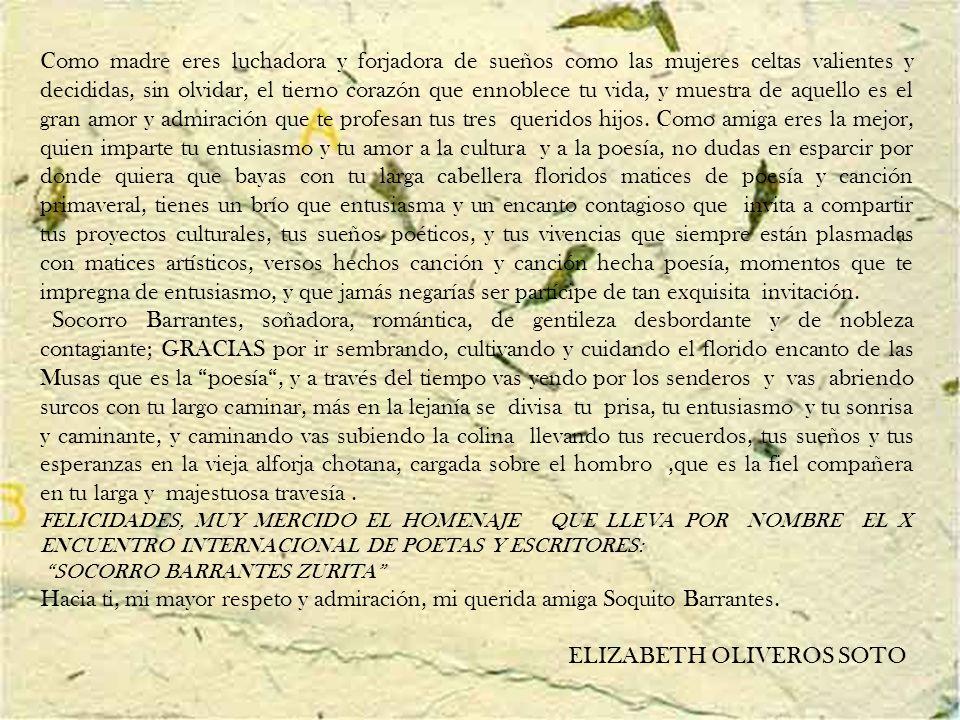 ELIZABETH OLIVEROS SOTO