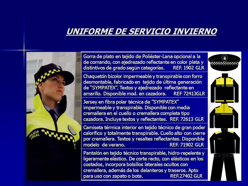 UNIFORME DE SERVICIO INVIERNO