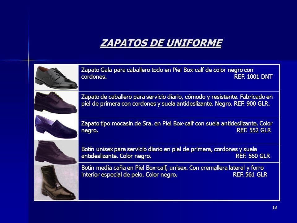 ZAPATOS DE UNIFORME