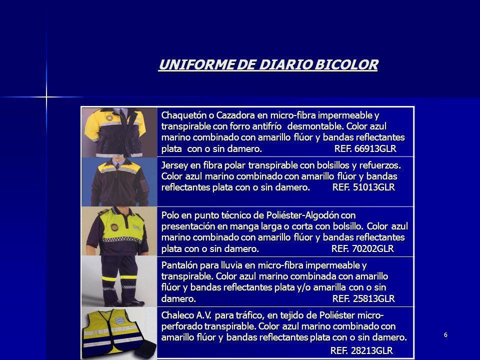UNIFORME DE DIARIO BICOLOR