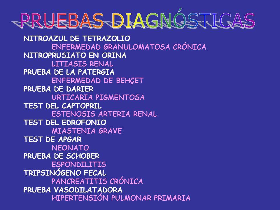 PRUEBAS DIAGNÓSTICAS NITROAZUL DE TETRAZOLIO