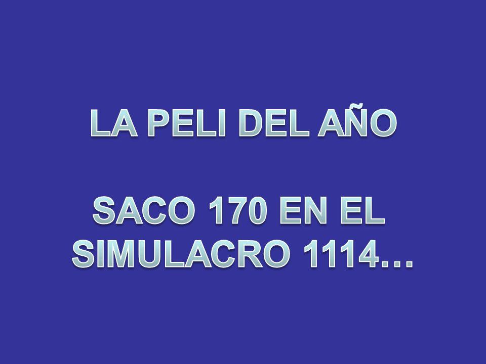 LA PELI DEL AÑO SACO 170 EN EL SIMULACRO 1114…