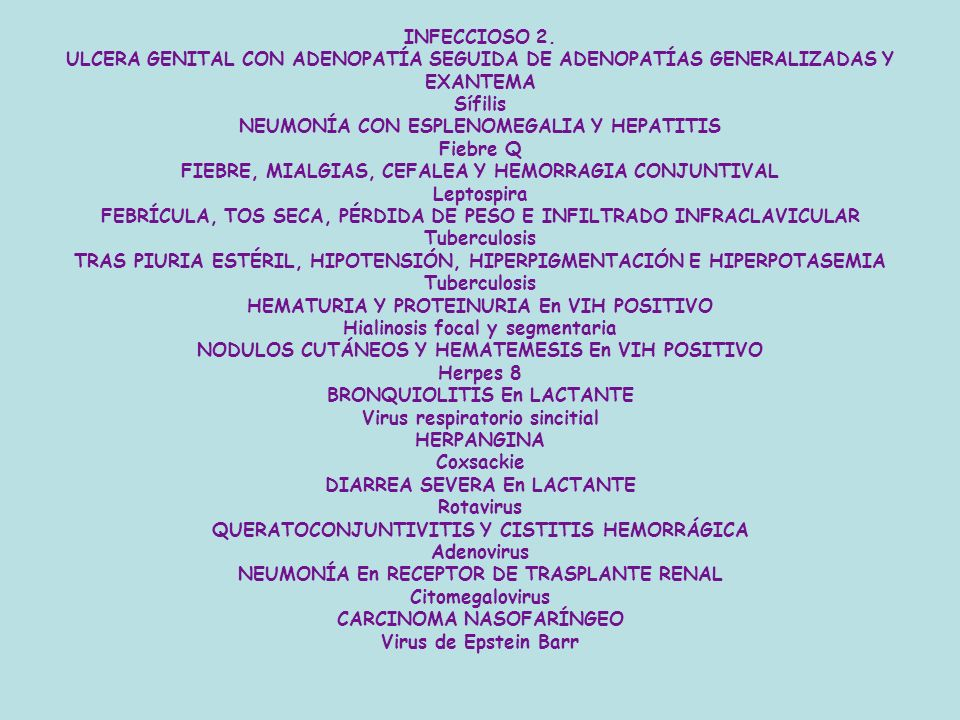 NEUMONÍA CON ESPLENOMEGALIA Y HEPATITIS Fiebre Q