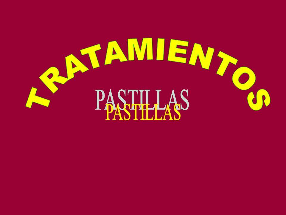 TRATAMIENTOS PASTILLAS
