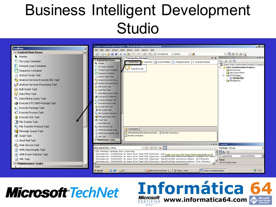Business Intelligent Development Studio