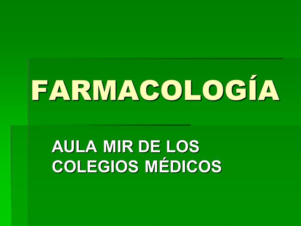 AULA MIR DE LOS COLEGIOS MÉDICOS
