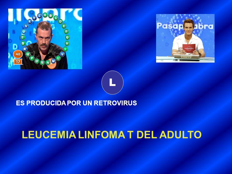 LEUCEMIA LINFOMA T DEL ADULTO
