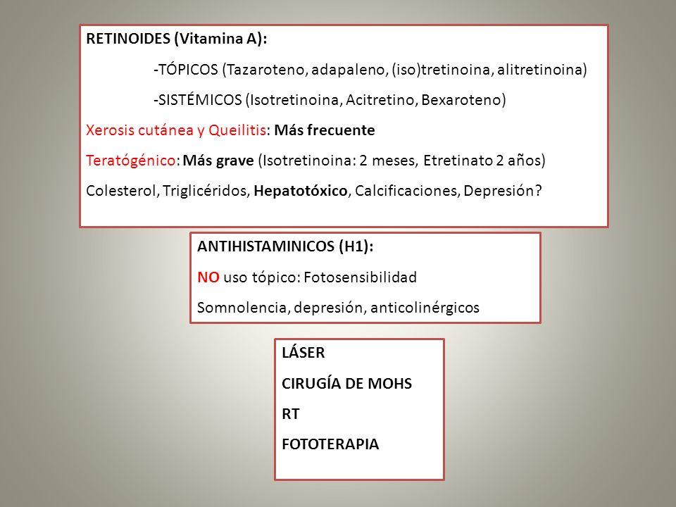 RETINOIDES (Vitamina A):