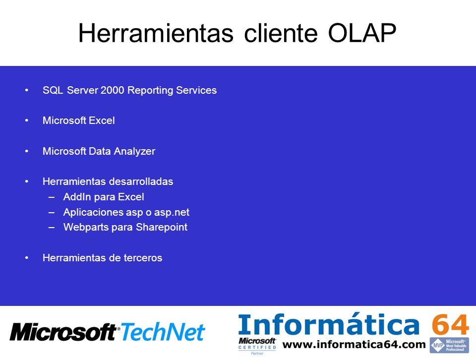 Herramientas cliente OLAP
