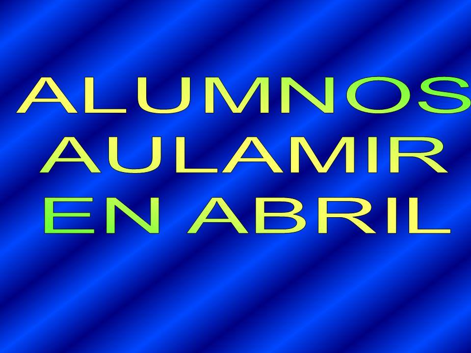 ALUMNOS AULAMIR EN ABRIL