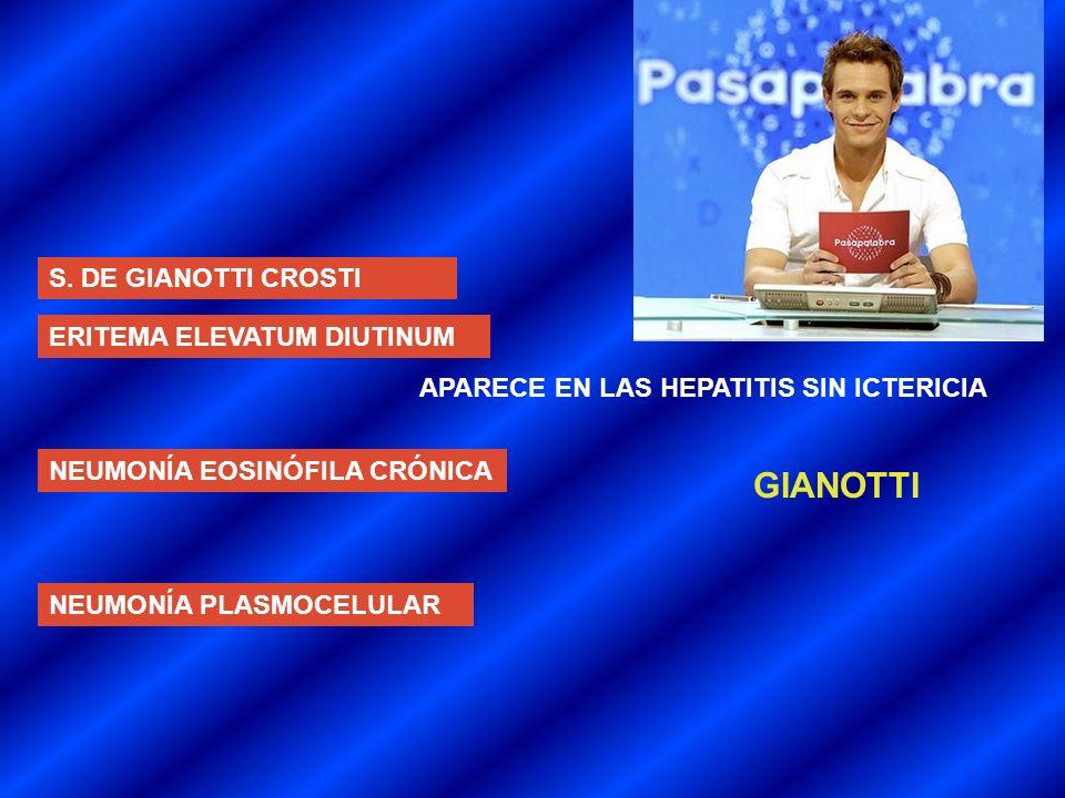 GIANOTTI S. DE GIANOTTI CROSTI ERITEMA ELEVATUM DIUTINUM