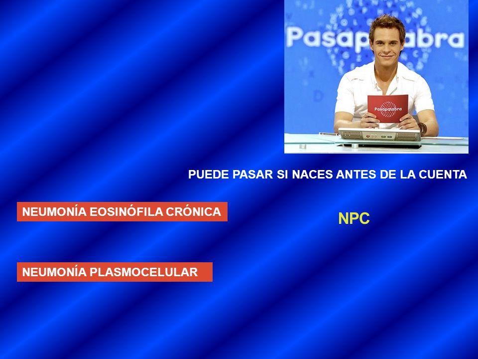 NPC PUEDE PASAR SI NACES ANTES DE LA CUENTA