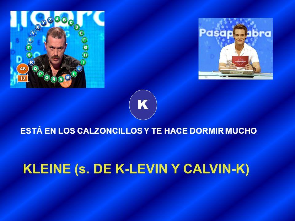 KLEINE (s. DE K-LEVIN Y CALVIN-K)