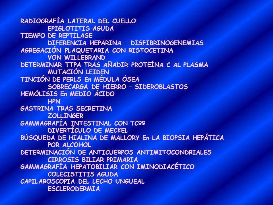 RADIOGRAFÍA LATERAL DEL CUELLO
