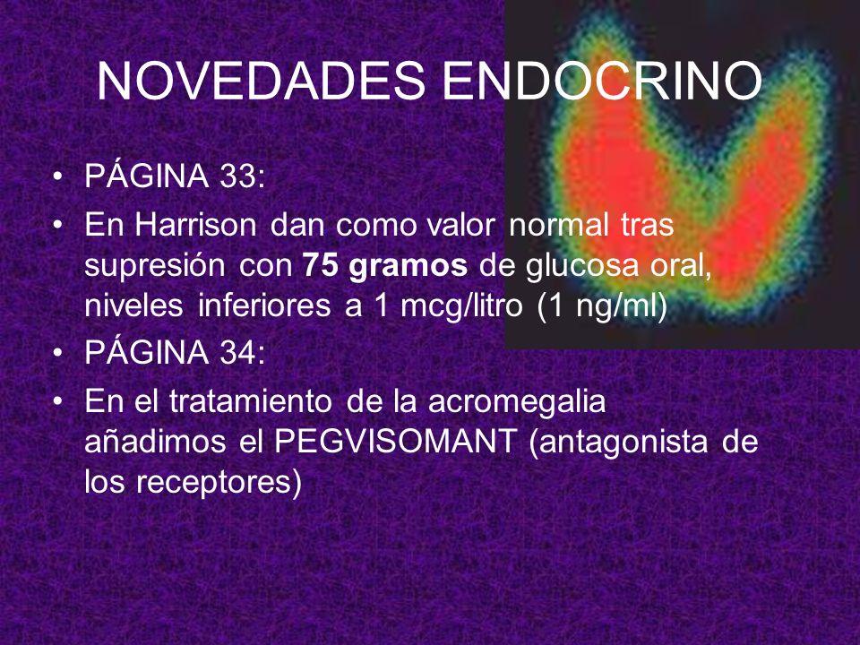 NOVEDADES ENDOCRINO PÁGINA 33: