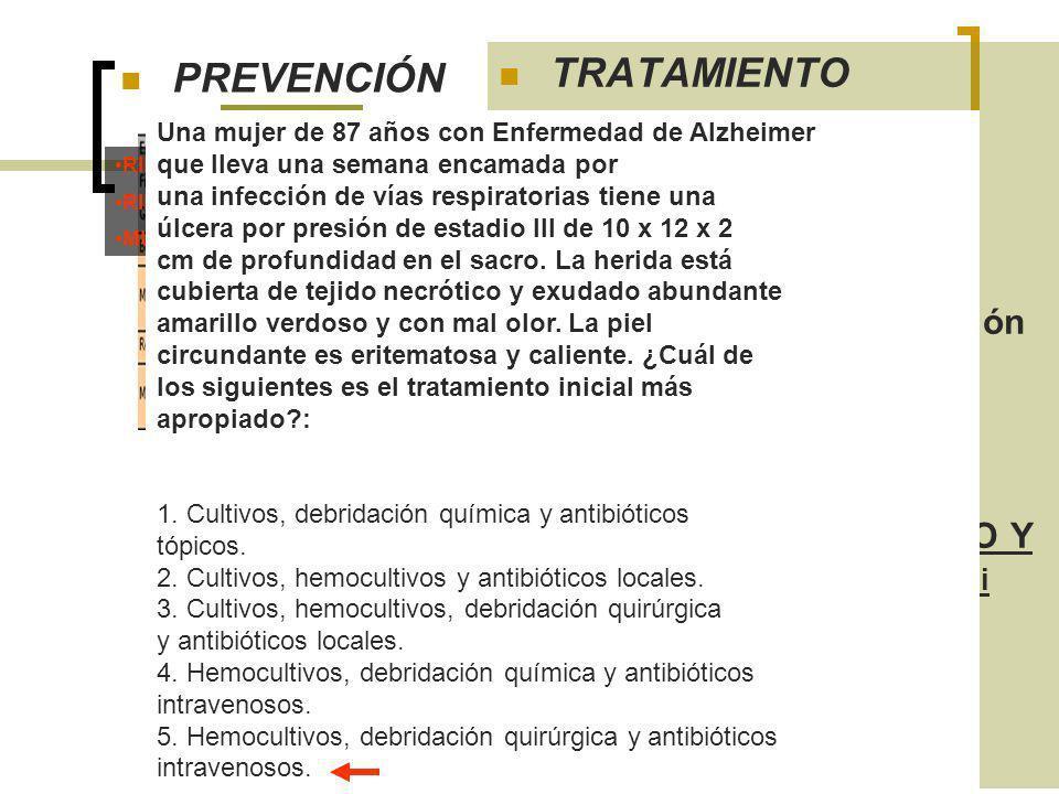 CONTROL DE FACTORES PREDISPONENTES:
