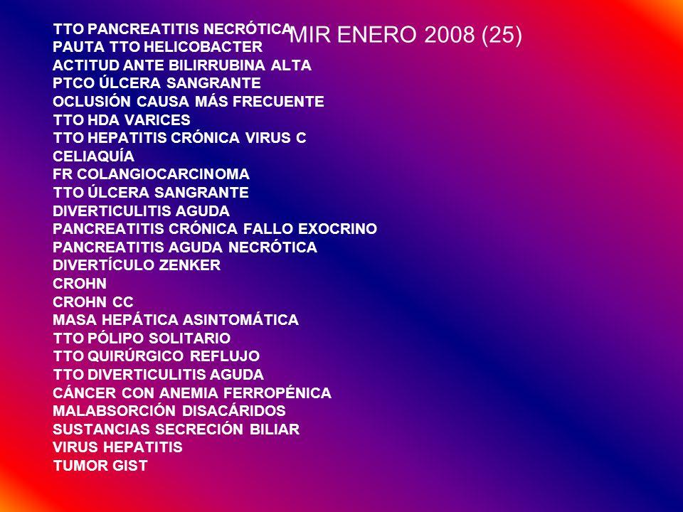 MIR ENERO 2008 (25) TTO PANCREATITIS NECRÓTICA PAUTA TTO HELICOBACTER