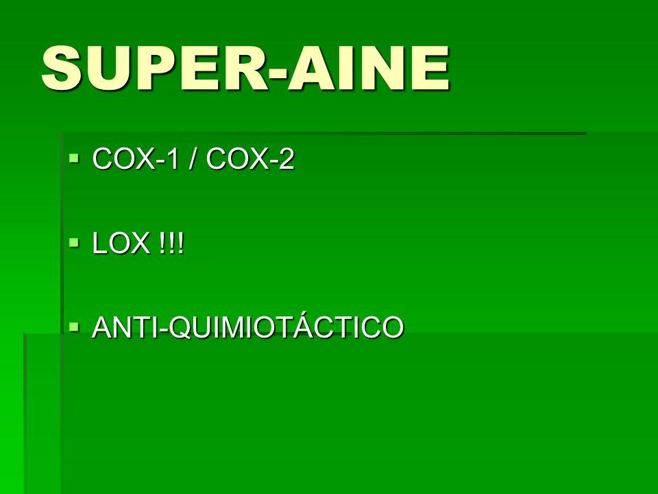 SUPER-AINE COX-1 / COX-2 LOX !!! ANTI-QUIMIOTÁCTICO