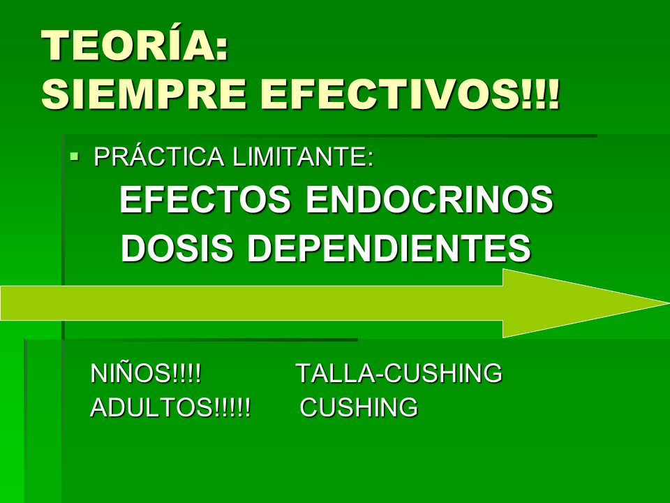 TEORÍA: SIEMPRE EFECTIVOS!!!