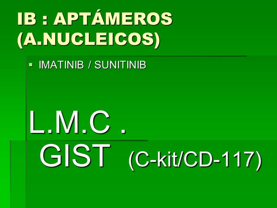 IB : APTÁMEROS (A.NUCLEICOS)