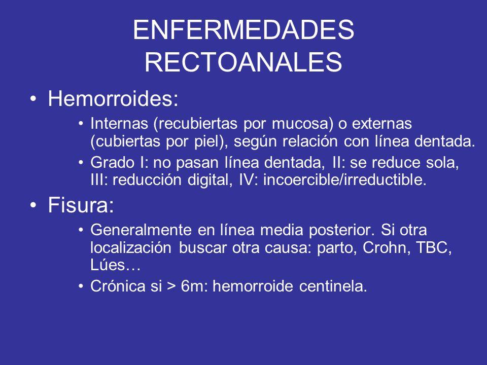 ENFERMEDADES RECTOANALES
