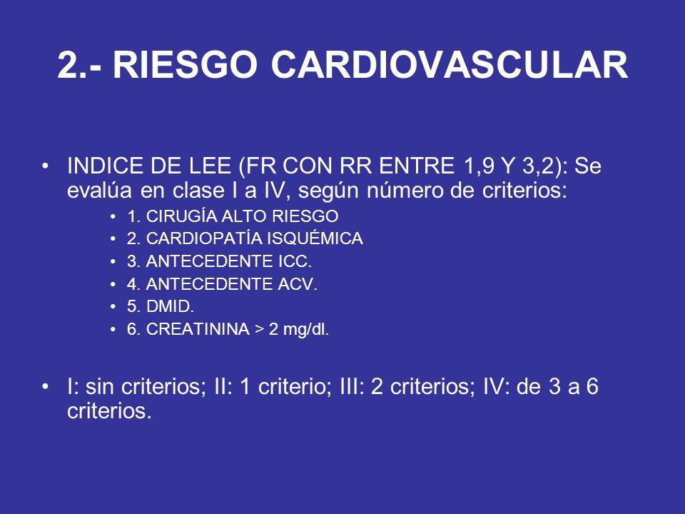 2.- RIESGO CARDIOVASCULAR