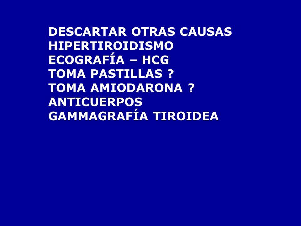 DESCARTAR OTRAS CAUSAS
