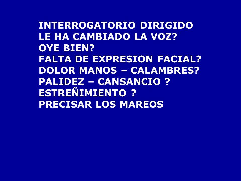 INTERROGATORIO DIRIGIDO