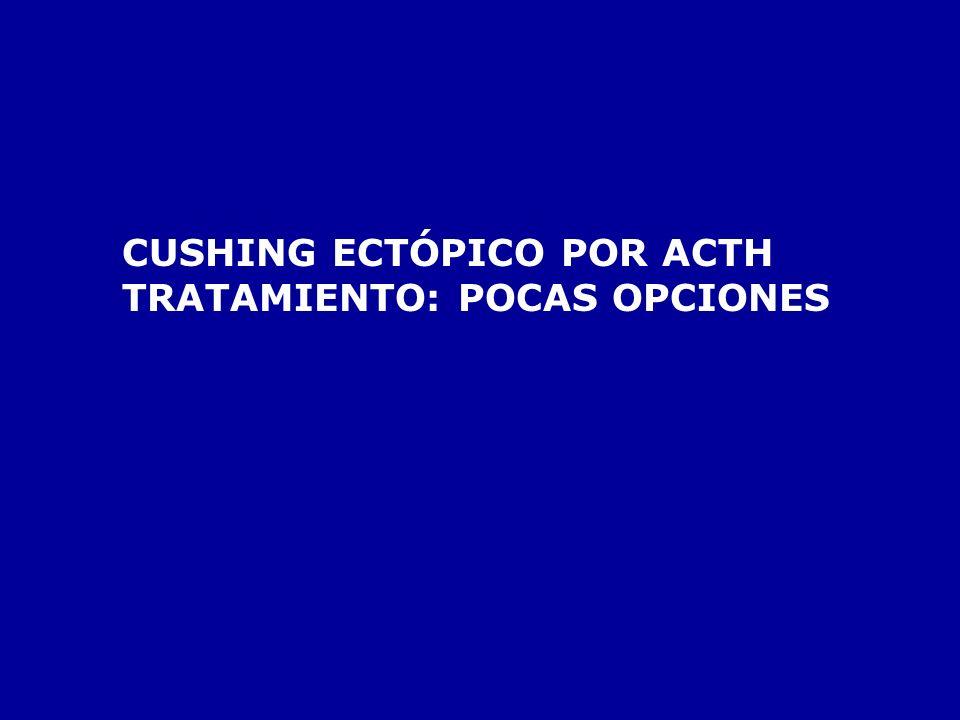 CUSHING ECTÓPICO POR ACTH